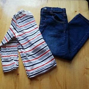Boys jeans and long sleeve